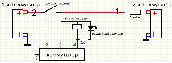 Провода 1 и 2 (на схеме